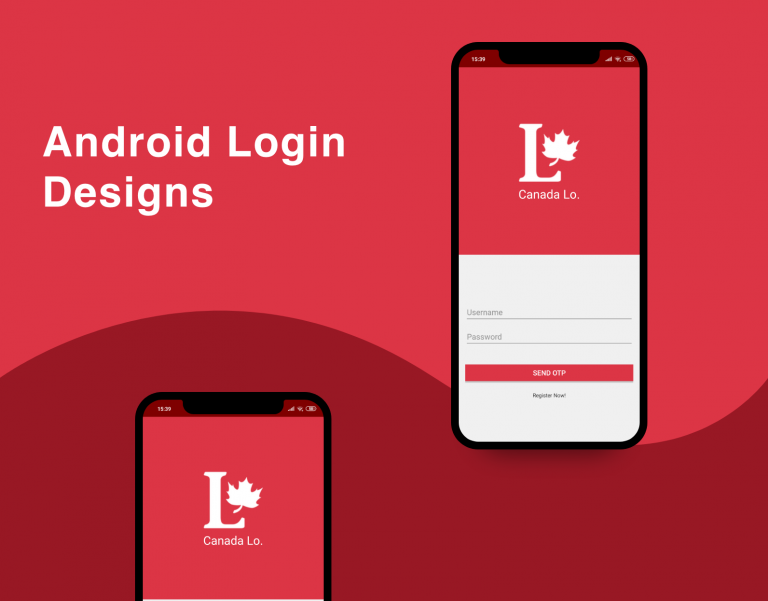 android login snippet