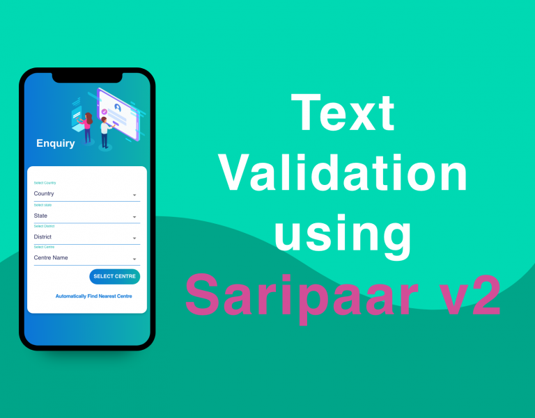 Saripar library validation