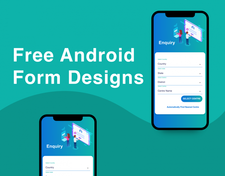 free android form designs with source code