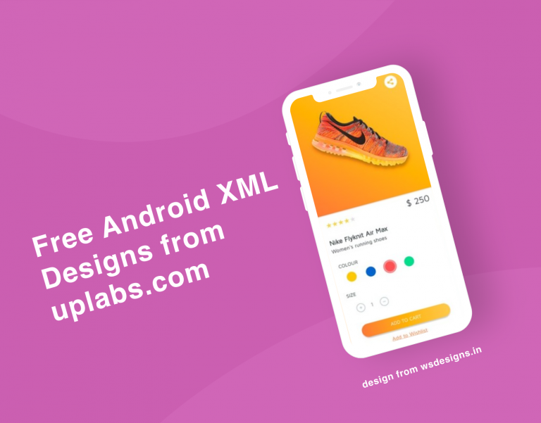 Free android designs from uplabs