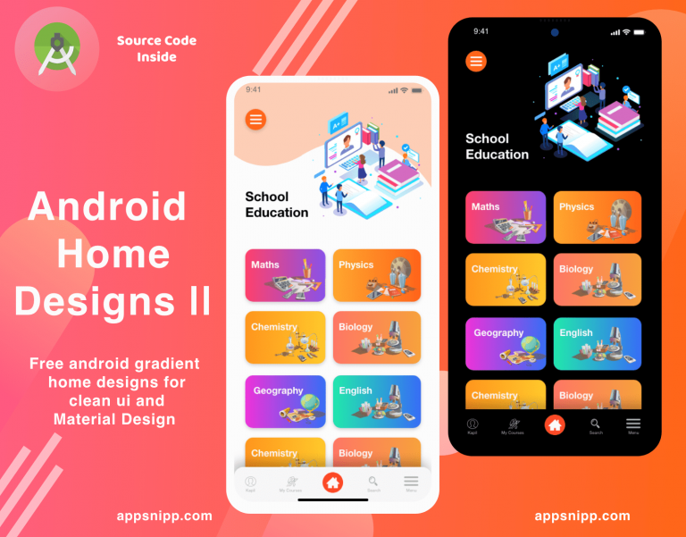 App Snipp - Free designs, Ui Kits, themes and Libraries for